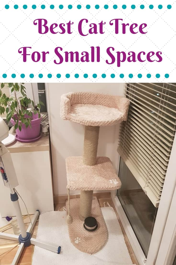 Best Cat Tree  For Small Spaces