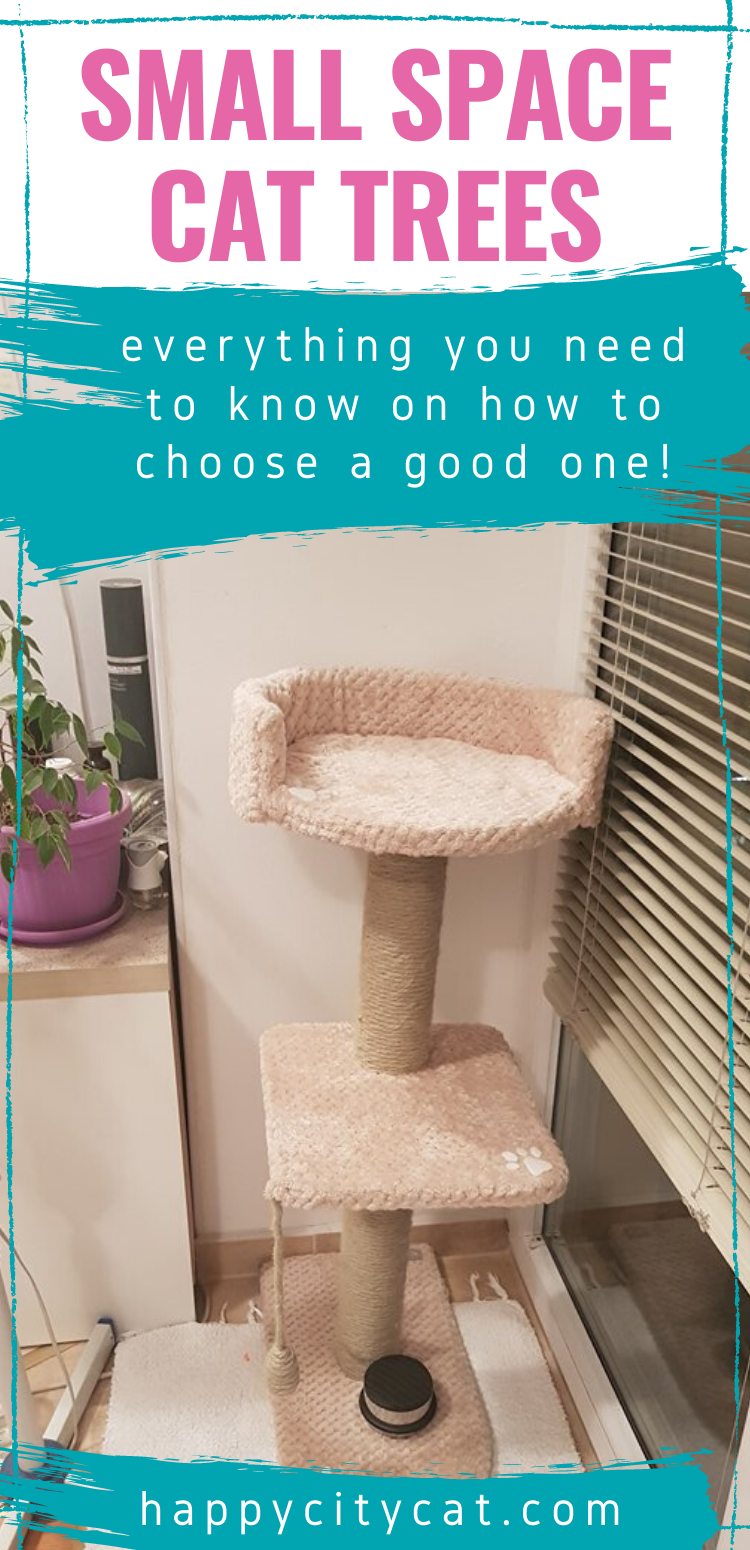 Best Space Saving Cat Tree For Small Apartment