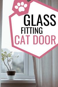 Cat Door In Window - Glass Fitting Cat Door