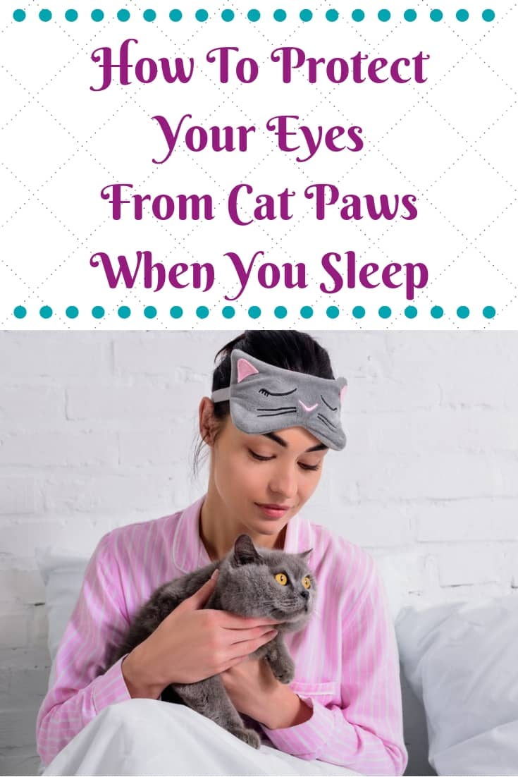 Cat Nap Sleep Mask - Protect Your Eyes From Cat Paws