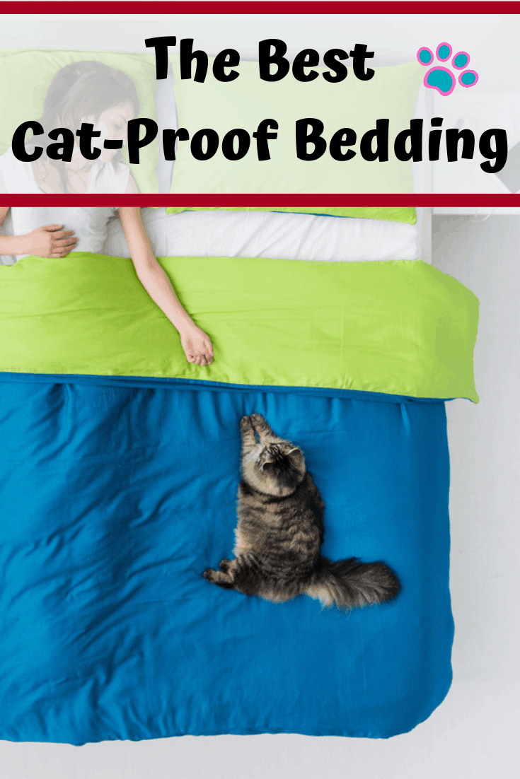 Cat Proof Bedding Cat Claw Resistant Bed Sheets Happy City Cat