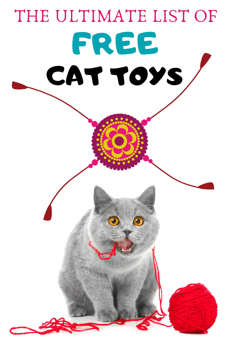 The Ultimate List Of Free Cat Toys