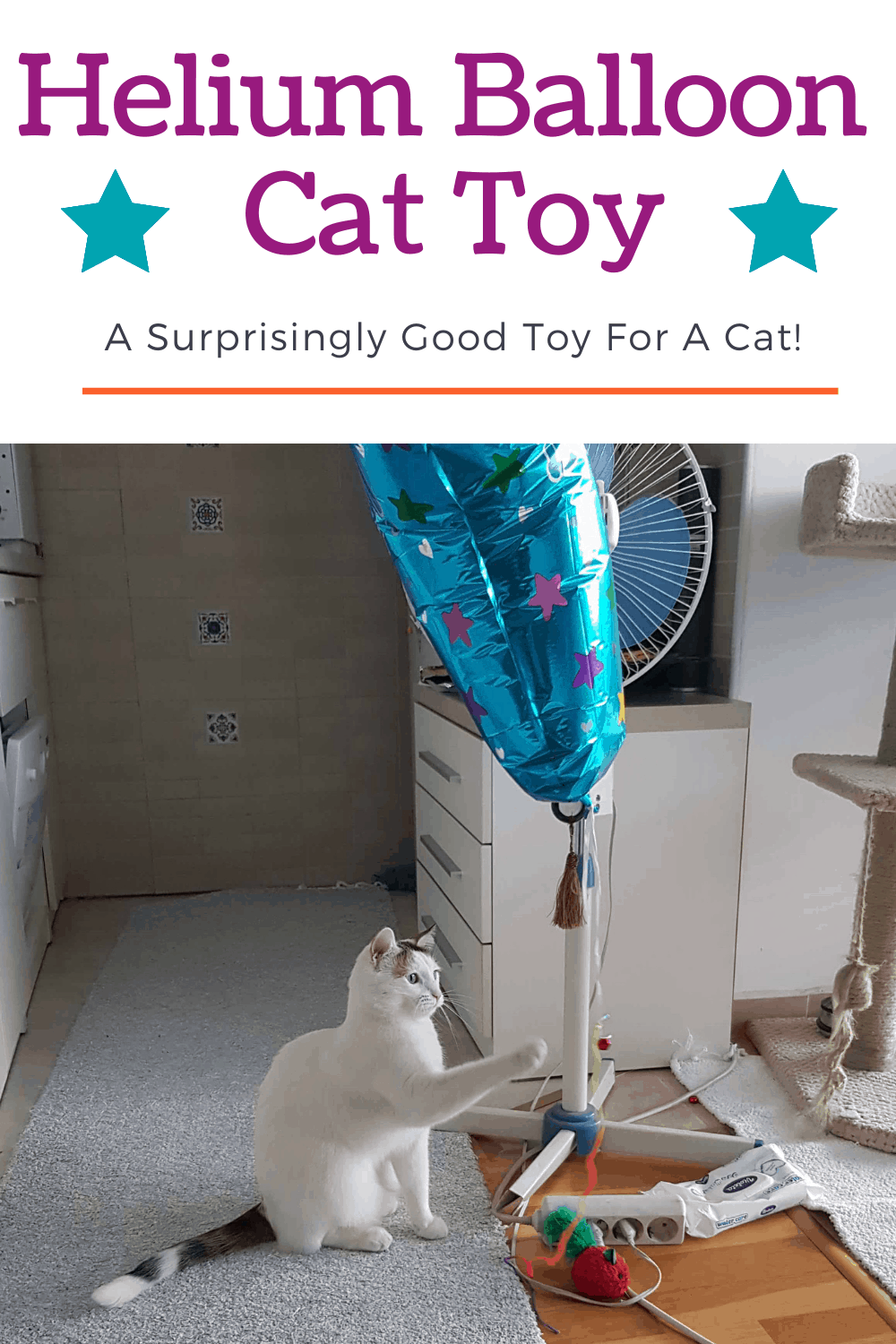 Helium Balloon Toy For Cat