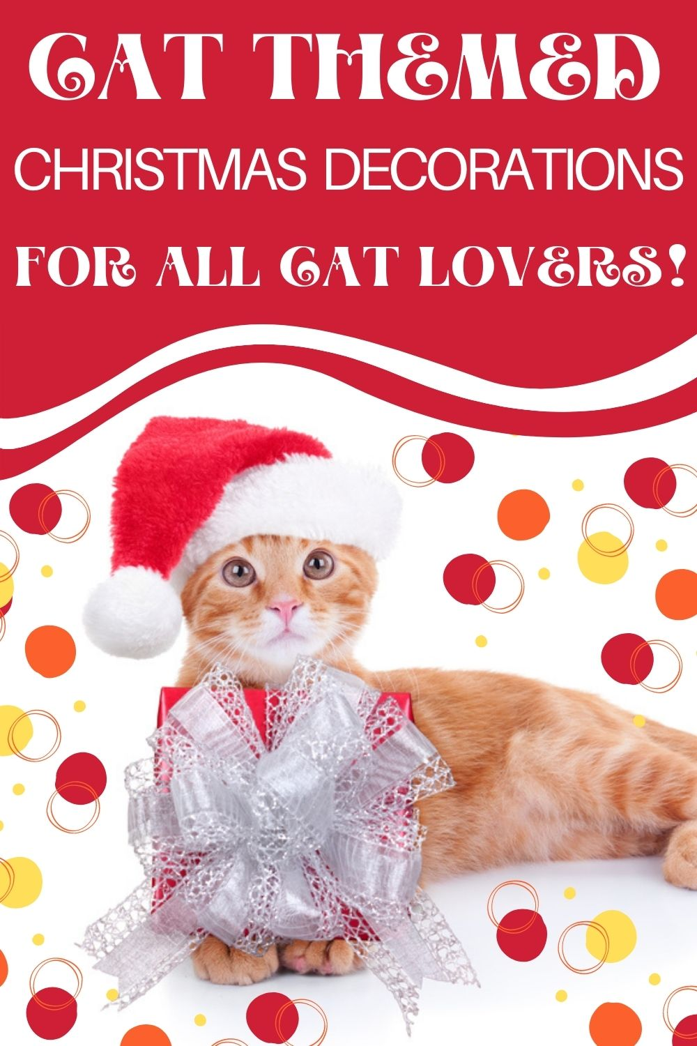 Cat Themed Christmas Decorations